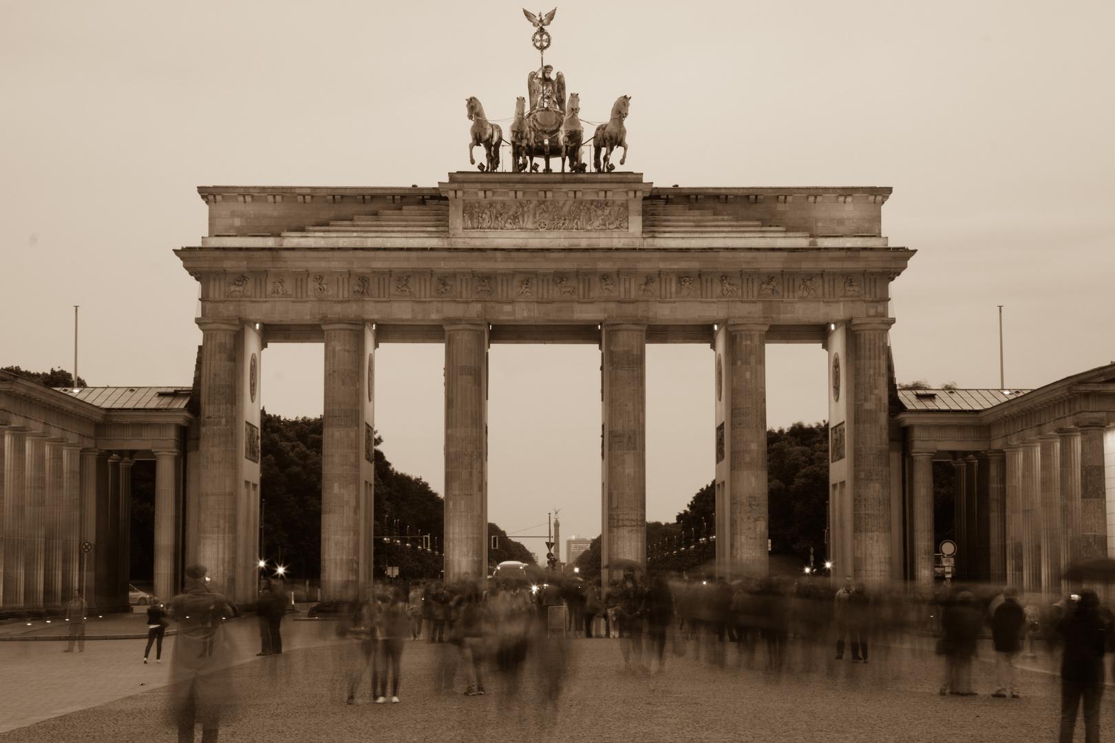 Publikumsmagnet Brandenburger Tor