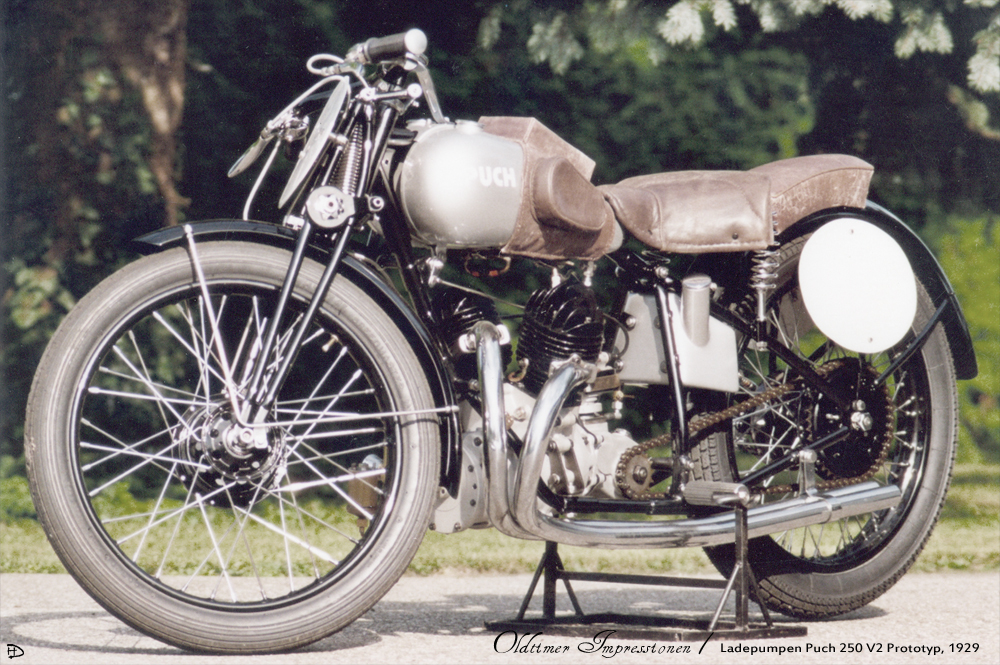 Puch 250 V2 Ladepumpe Prototyp 1929