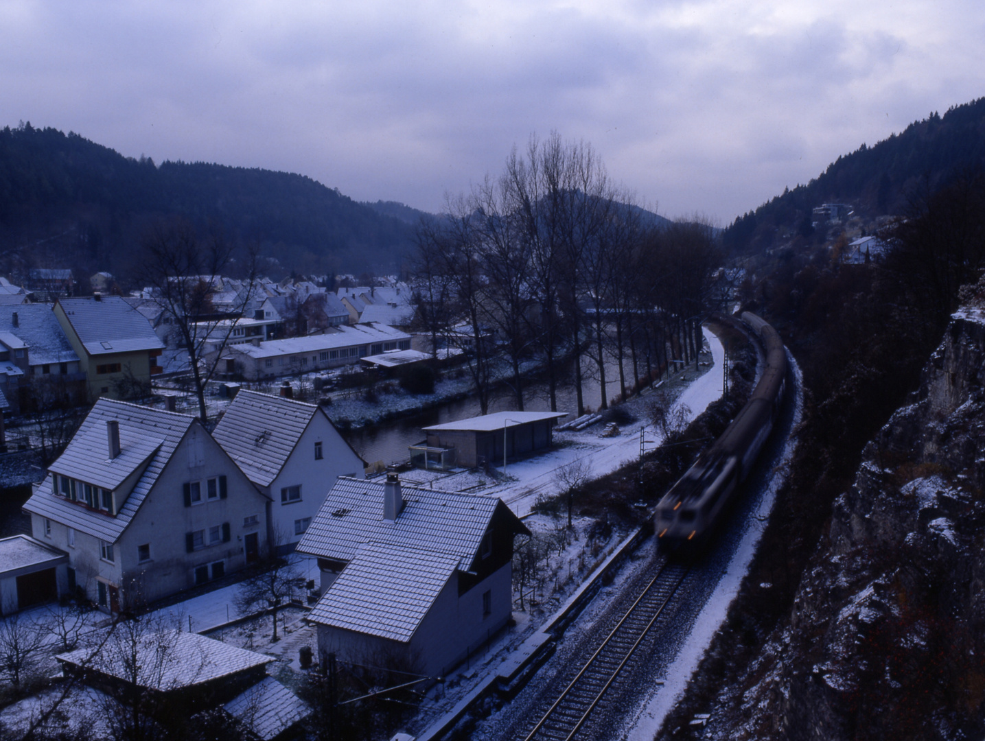 Puderzucker am Neckar