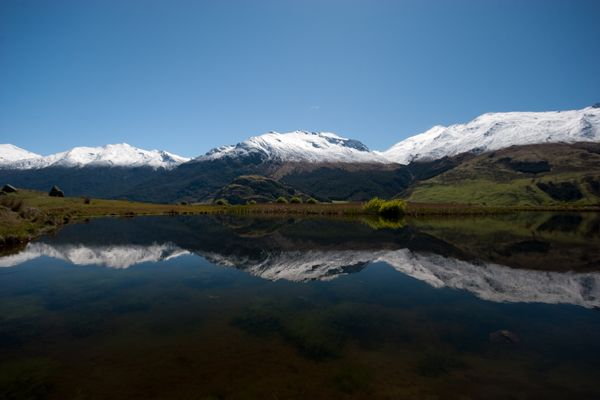 Puderzucker im Mount Aspiring National Park