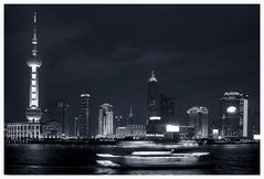 Pudong at night ....