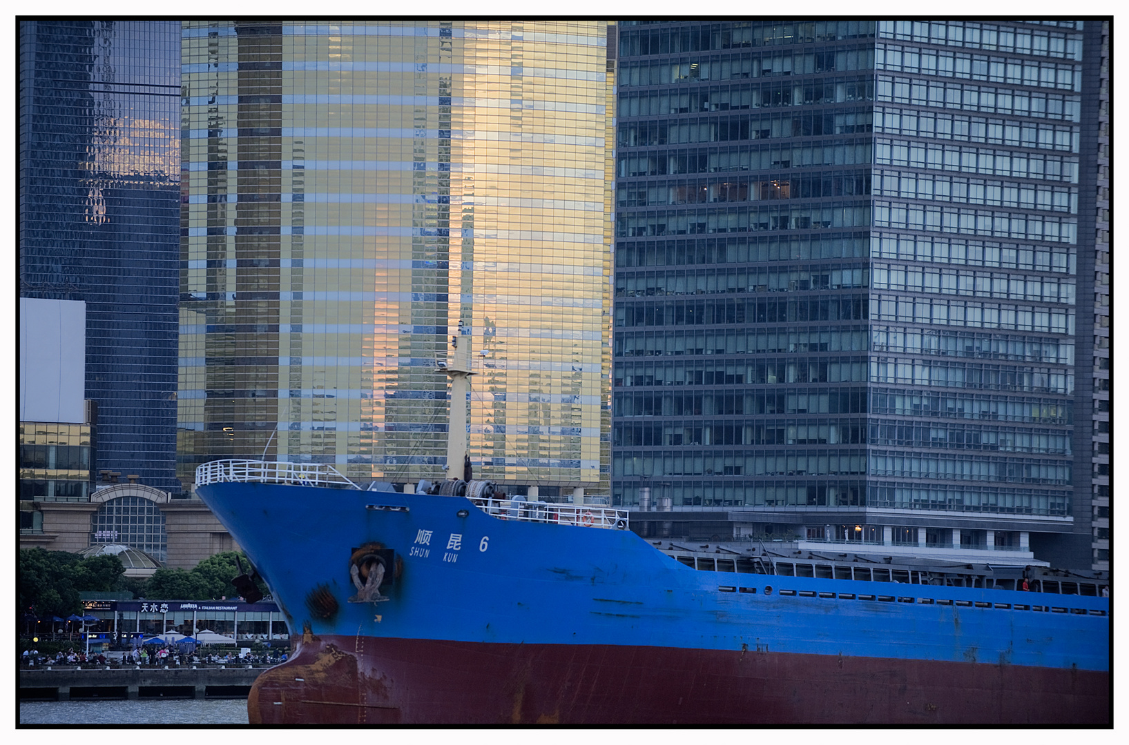 Pudong blues