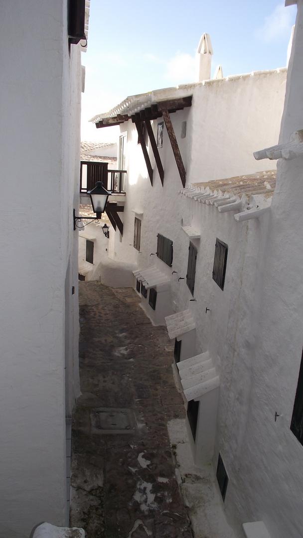 pueblo de Pescadores II. Binibeca.