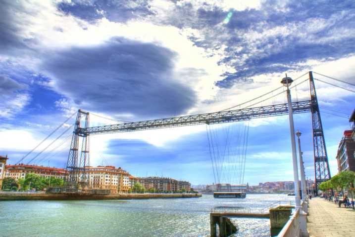 Puente Colgante bei Bilbao