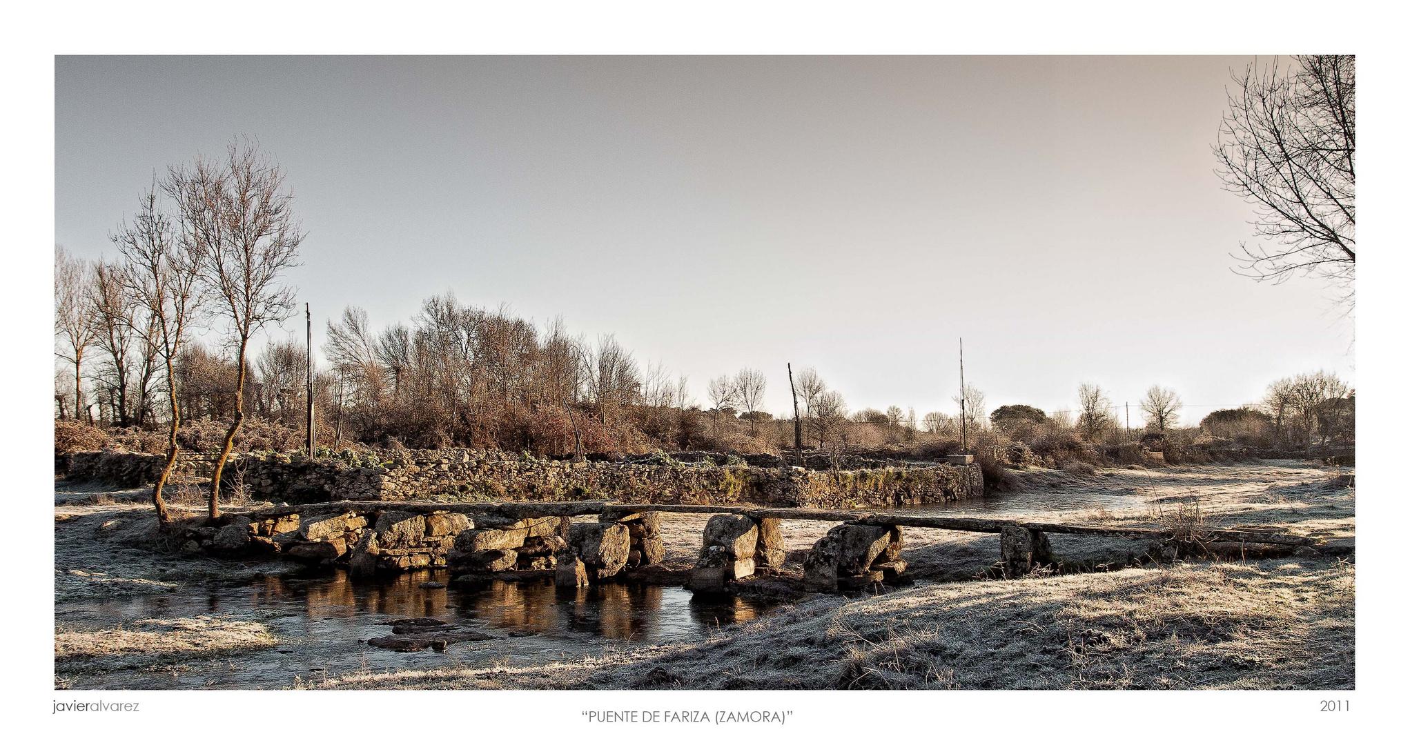 Puente de Pizarra. (Fariza, Zamora)