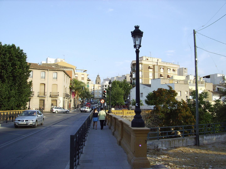 Puente el baño Aspe Alicante