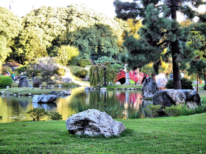 Puente en el Jardin...!!!!!
