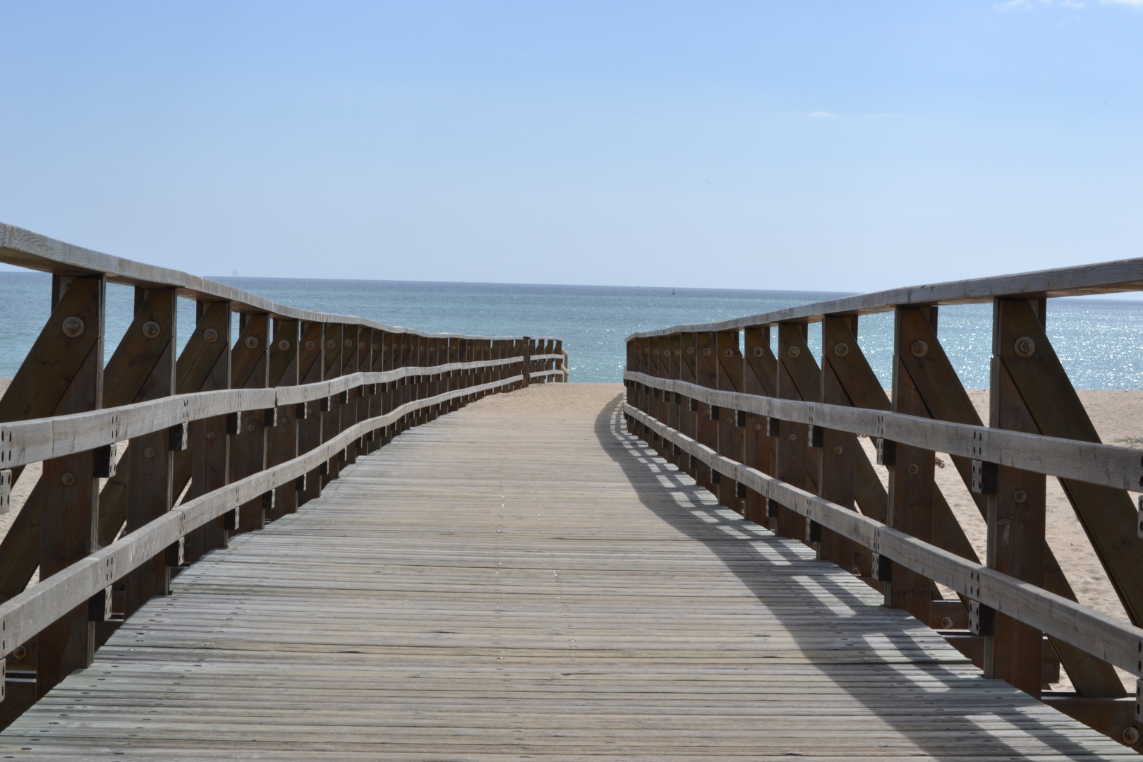 Puente playa Gaviota