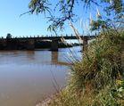 Puente sobre el río Carcarañá
