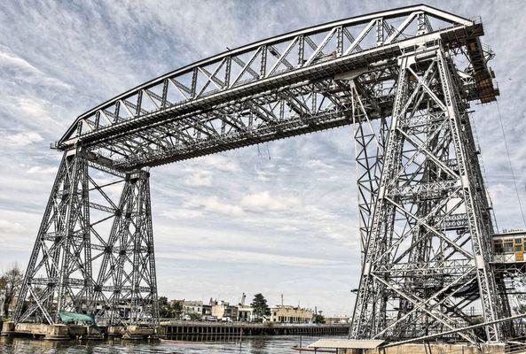 Puente trasbordador Avellaneda