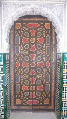 Puerta árabe-detalle