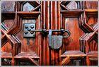 Puerta claustro catedral