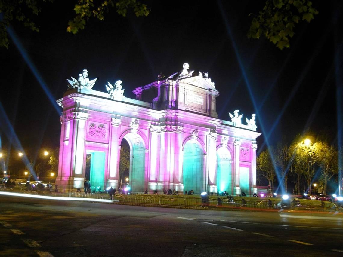 Puerta de Alcalá (Plaza de la Independencia) en Madrid