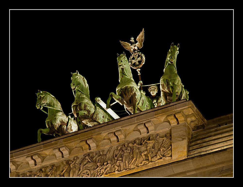 Puerta de Bradenburgo (Berlin Alemania)