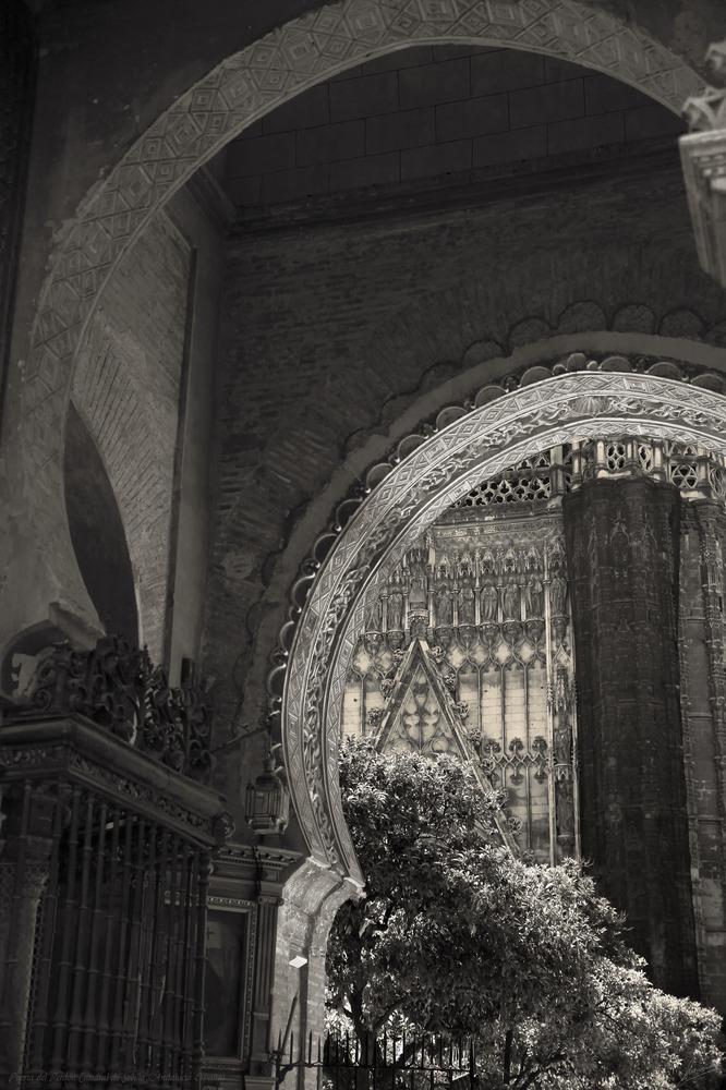 Puerta del Perdón 2 Catedral de Sevilla (Andalucía España)