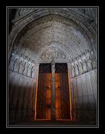 Puerta del Perdón Catedral de Santa María de Toledo ( Castilla La Mancha España )