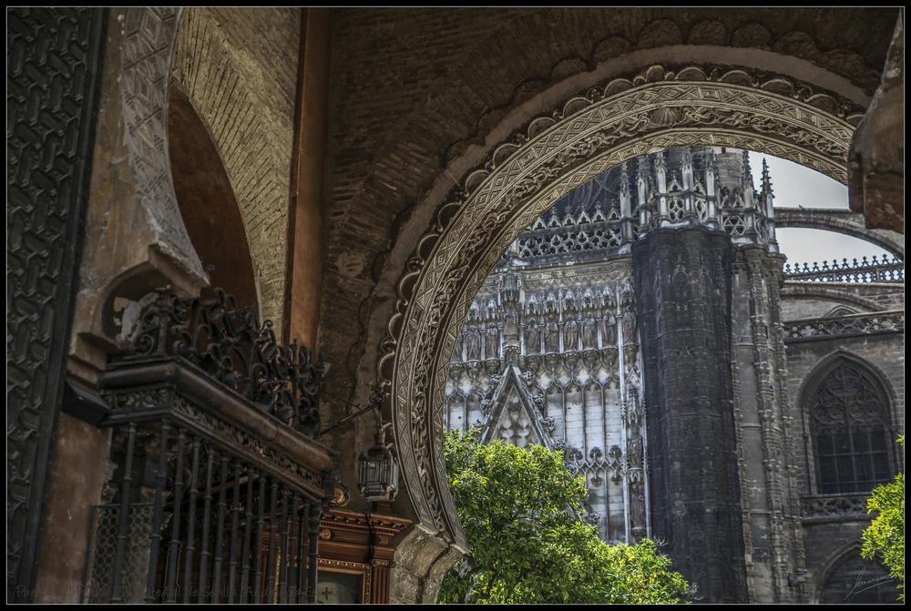 Puerta del Perdón III Catedral de Sevilla (Andalucía España)
