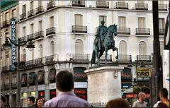 ** Puerta  del SOL**...0 Km di Spagna.