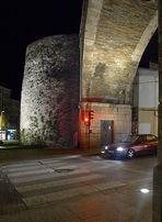 Puerta en la muralla de Lugo