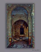 Puerta en recodo (Alcazaba de Málaga)
