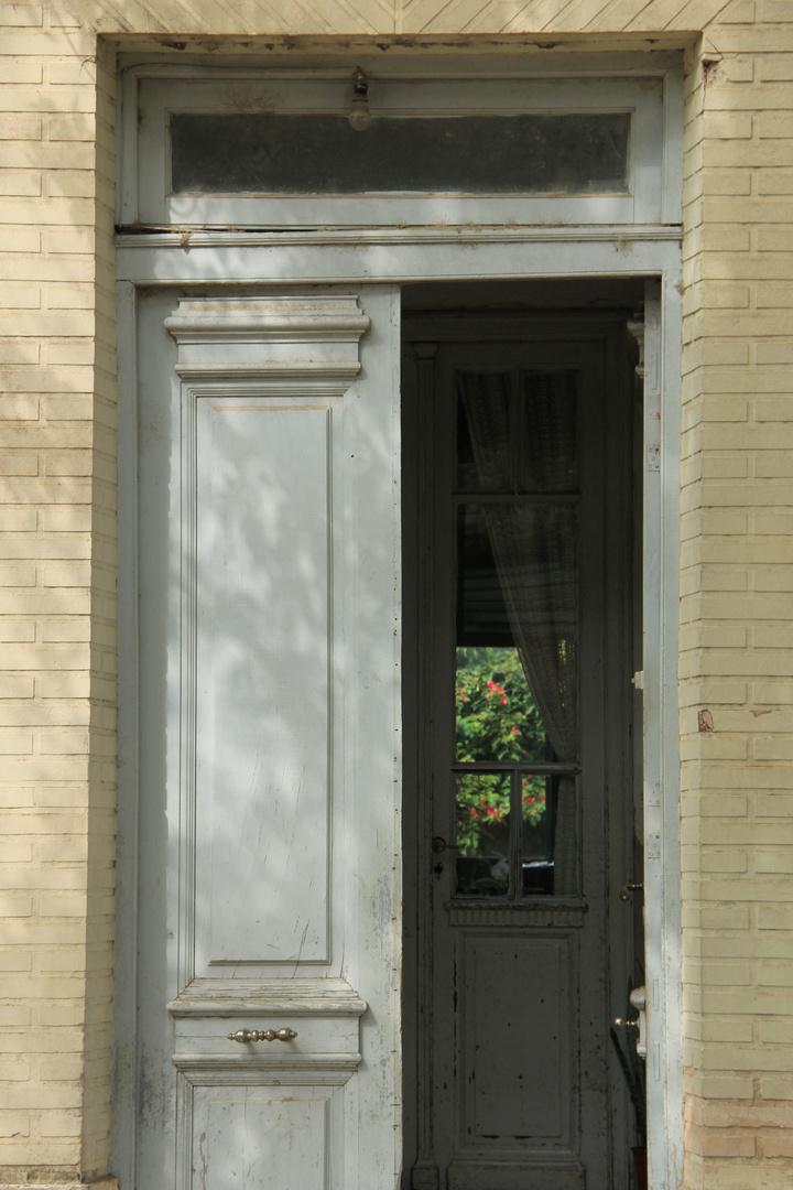 puertas al jardín