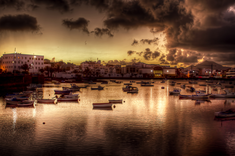 Puerto de Arrecife.