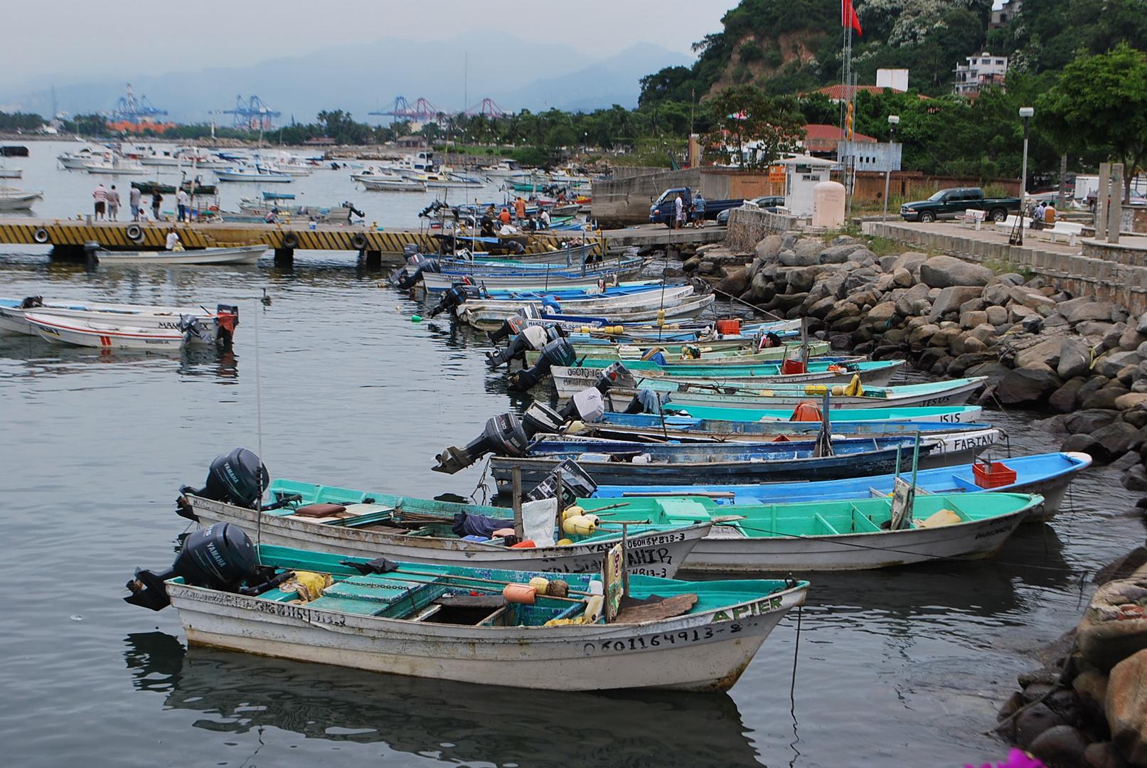 Puerto de Pescadores, Manzanillo -Mexico
