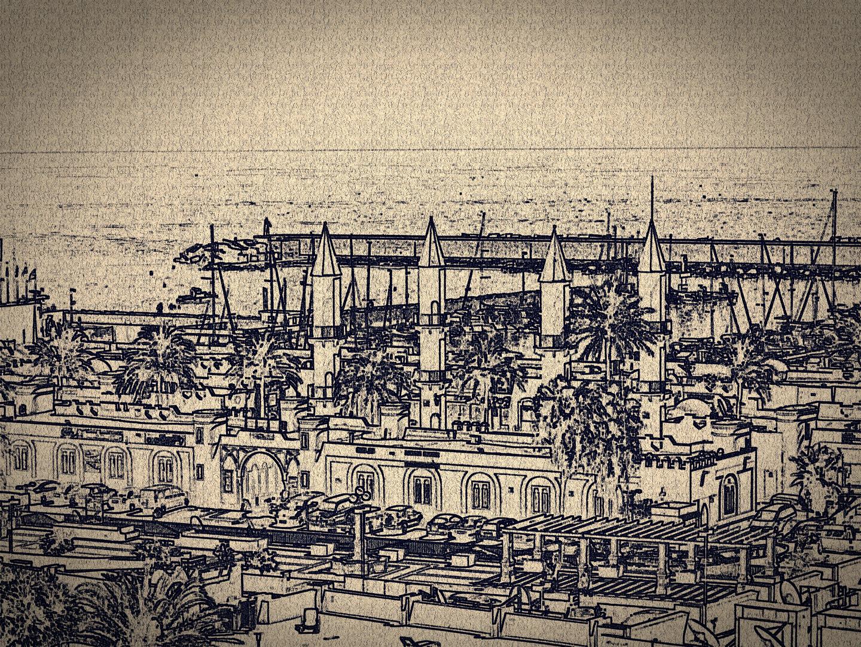 Puerto deportivo de Fuengirola (Malaga)