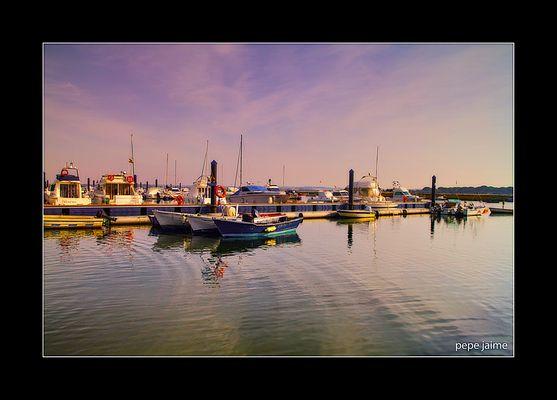 Puerto deportivo y pesquero de El Terrón (para Adriana Prieto)