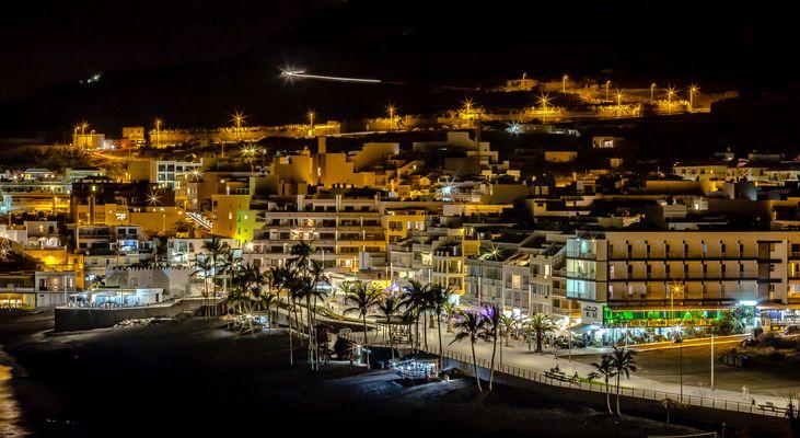 Puerto Naos bei Nacht