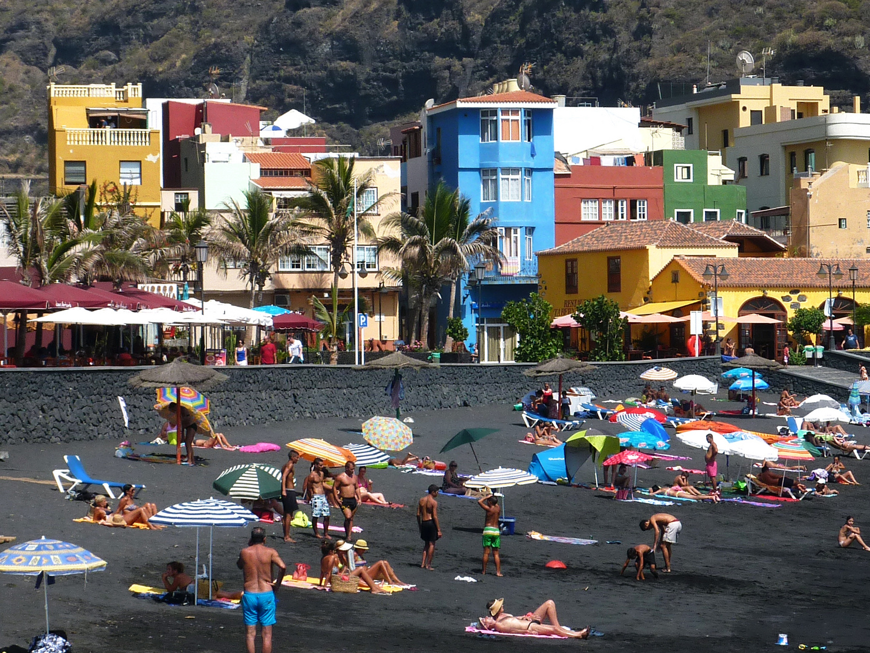 Puerto Tazacorte auf der Kanareninsel La Palma