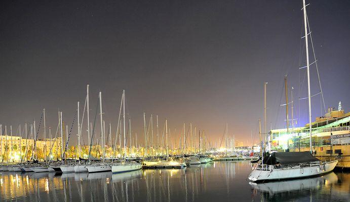 puerto viejo de barcelonetta