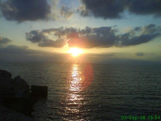 puesta de sol (con el movil nuevamente..) ya aprendere