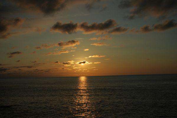 Puesta de sol en Donosti