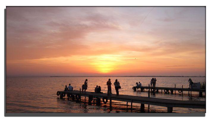 puesta de sol en la albufera II
