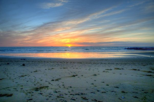 puesta de sol en Sanlúcar de Barrameda-2