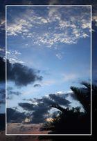 puesta del sol en puerto del carmen