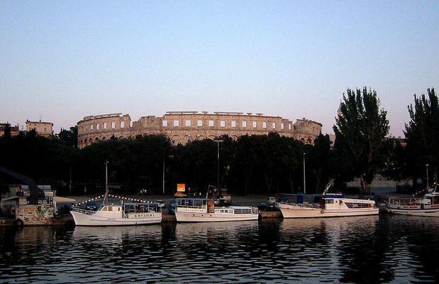 Pula Arena (eines der 3 Kolossen auf der Welt)