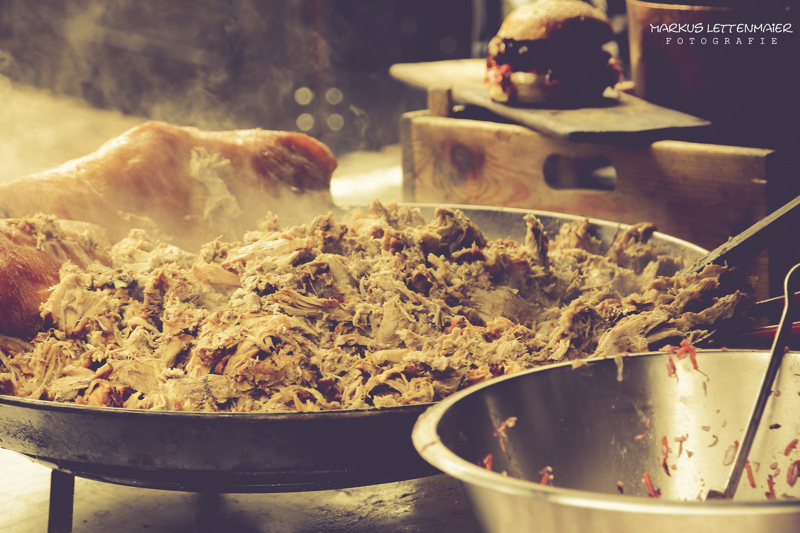 Pulled Pork at the Covent Garden Market