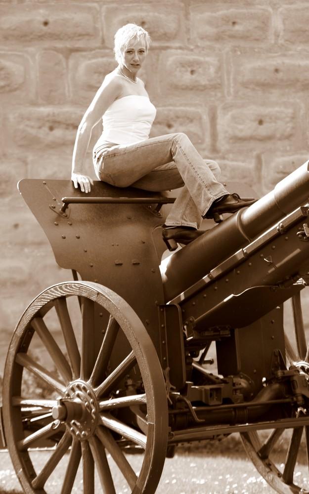 Pulverturm Kanone II