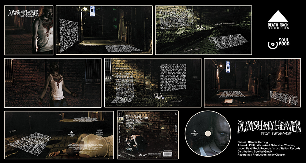 Punish My Heaven - First Punishment CD Artwork