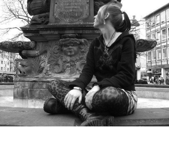 Punk am Brunnen