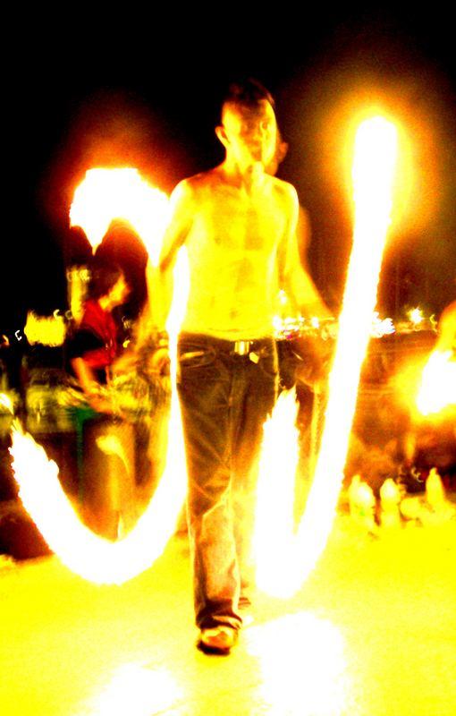 punk on fire