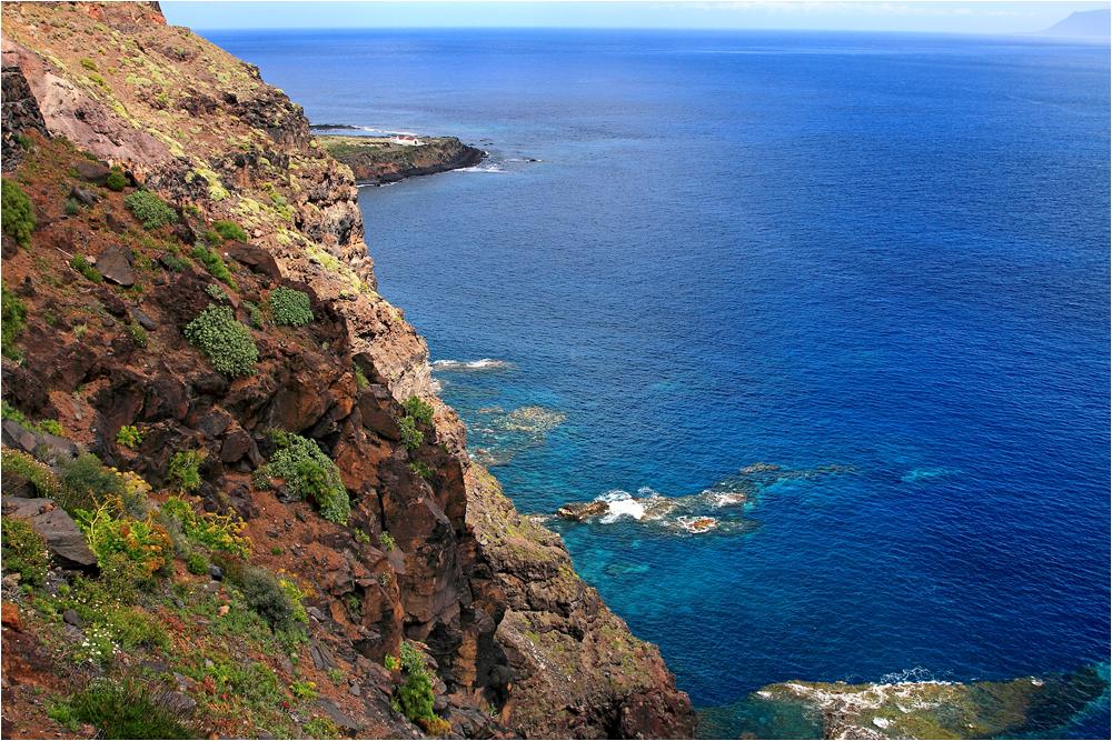 Punta Llana mit Eremita Senora de Guadelupe