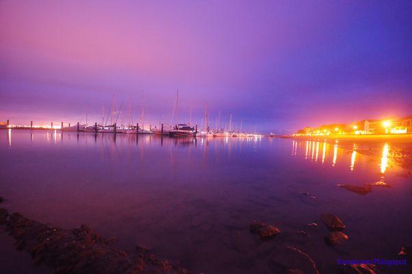 Punta Umbria la Ria...Huelva Amanecer