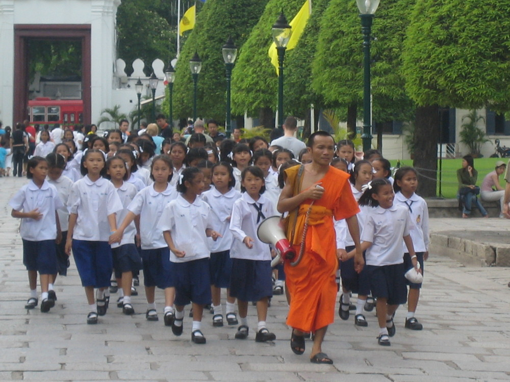Pupils & Monk