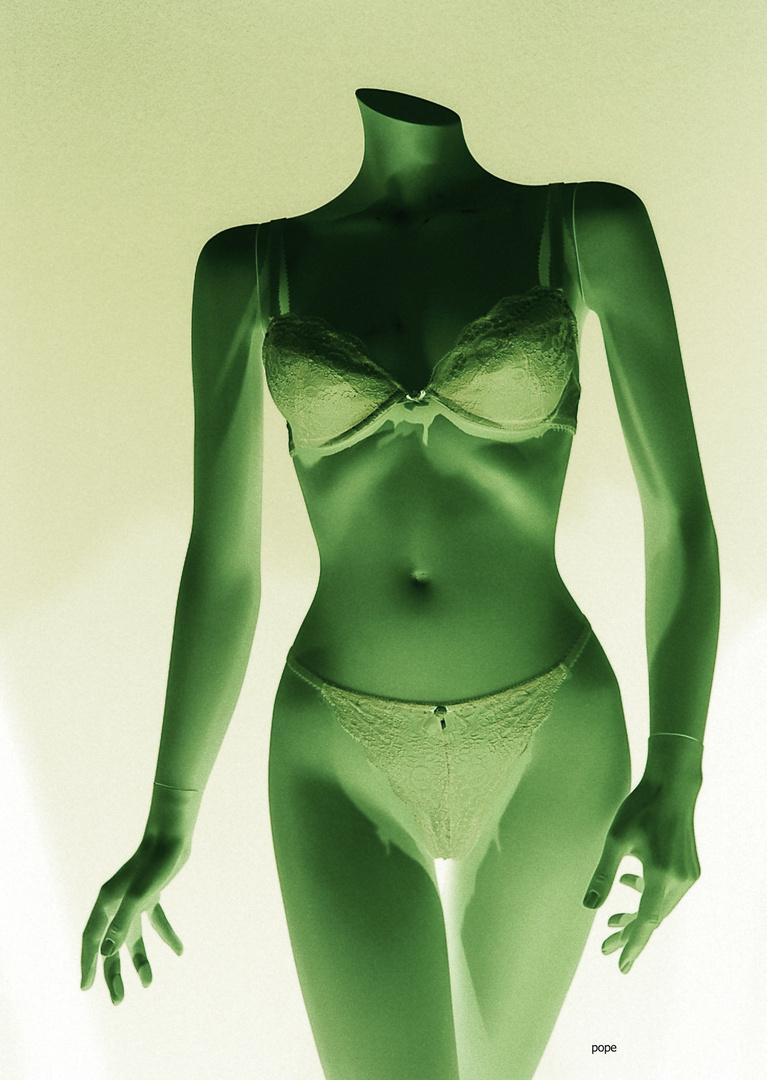 puppe, grün