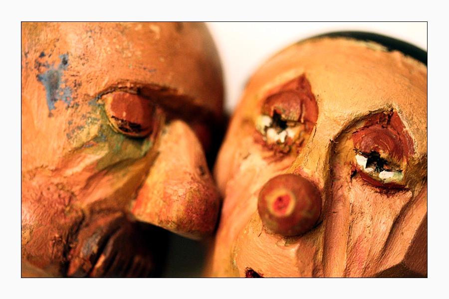 Puppenspiel Alte Sigg Zwei Köpfe