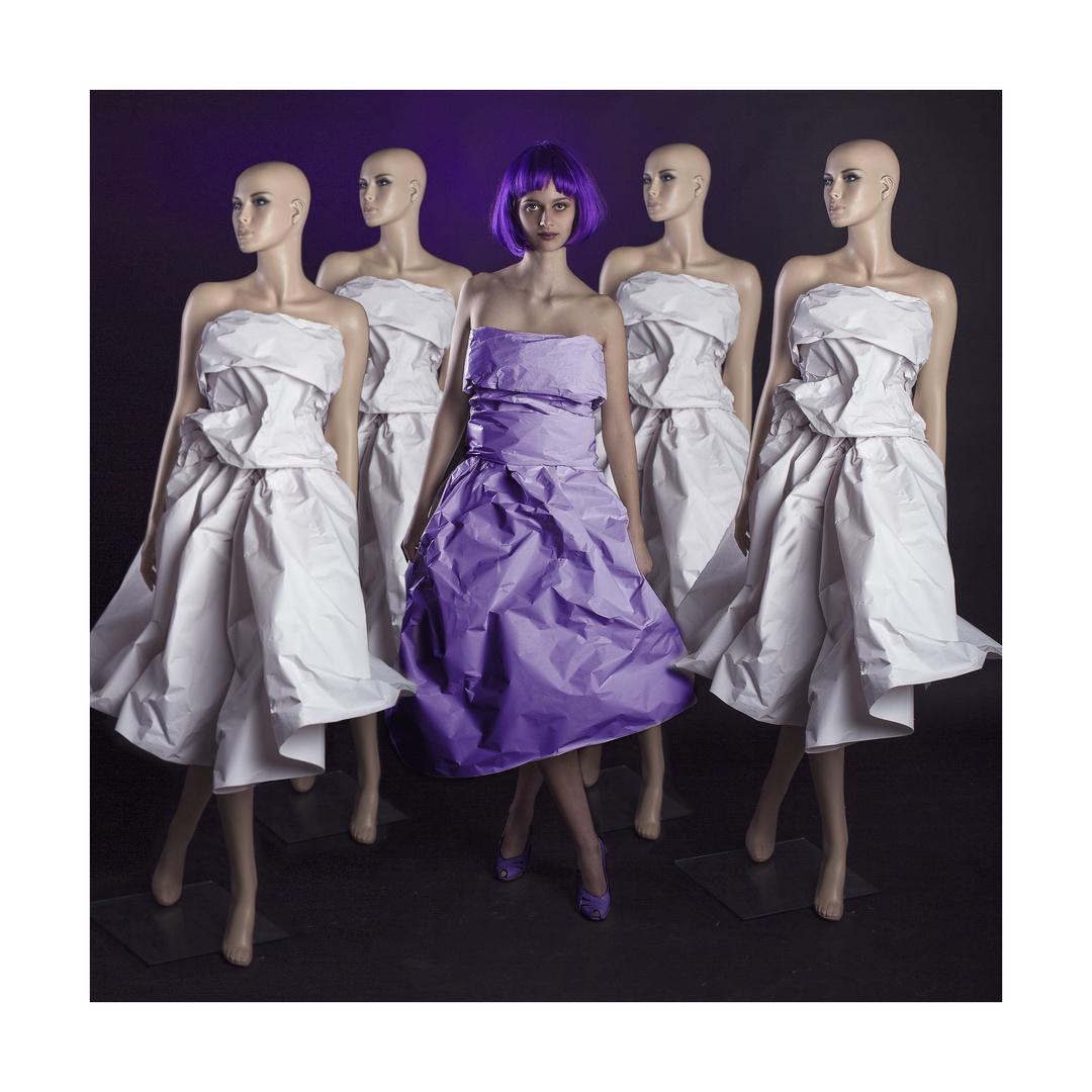 purple puppet