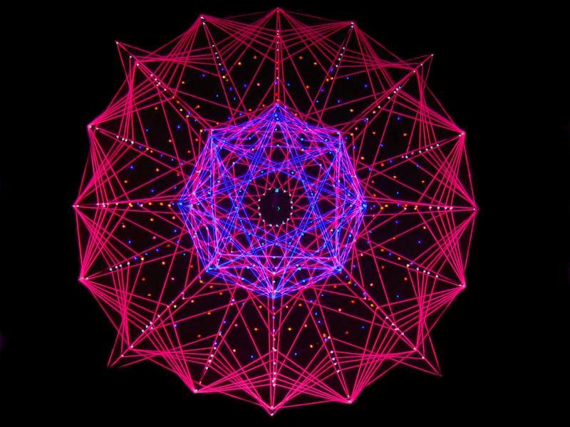 ...purple star...